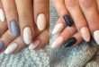 Cable Knit Sweater Nail Art Trend Is So Perfect for Winter