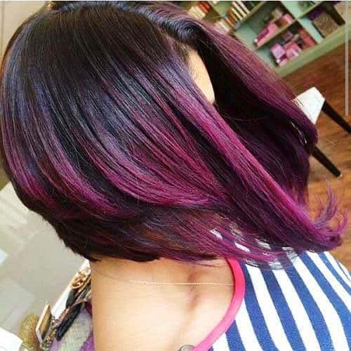 Vibrant Orchid Hair